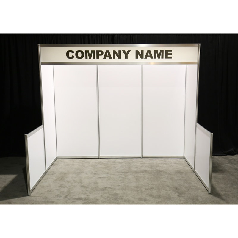 10x10 Hardwall Booth