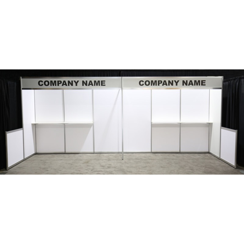 10x20 Hardwall Booth