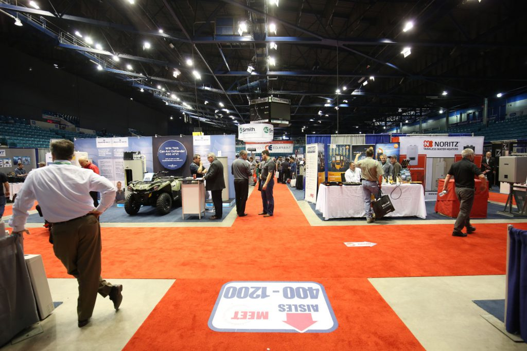 Global Convention Services - Trade-Show-Entrance