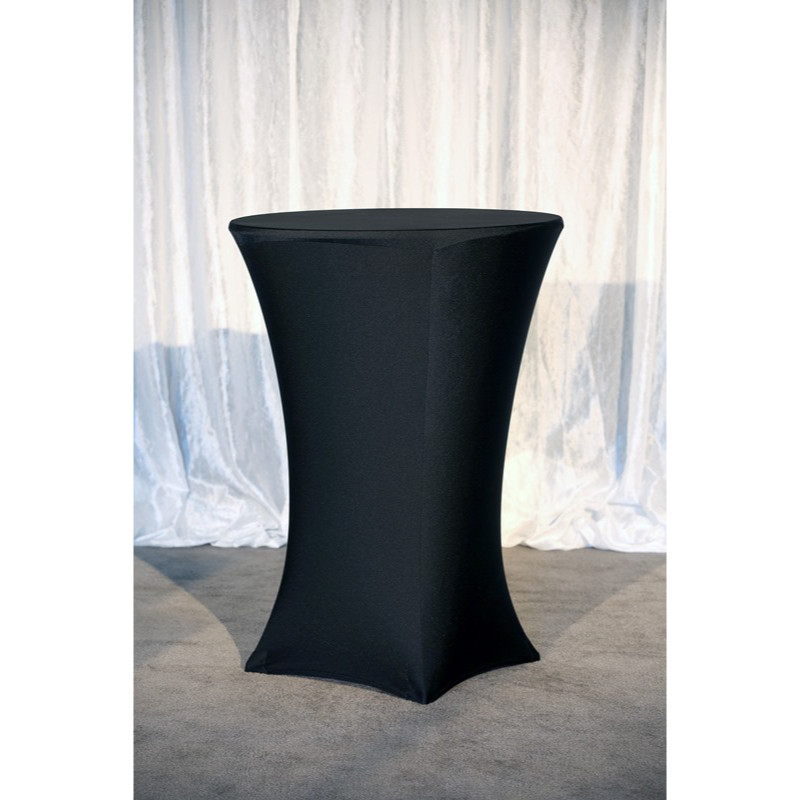 Bistro Table with Black Spandex