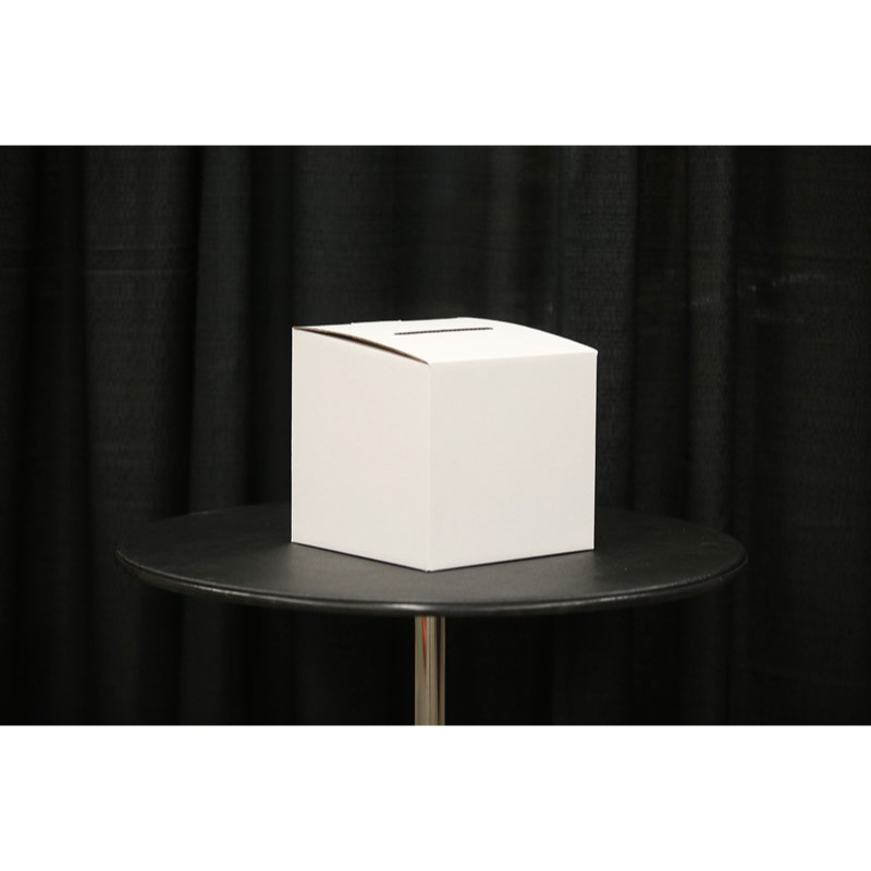 cardboard ballot box without header
