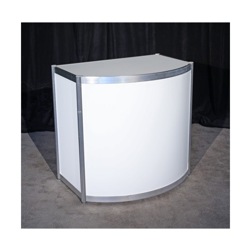 1 Meter Curved Front Counter