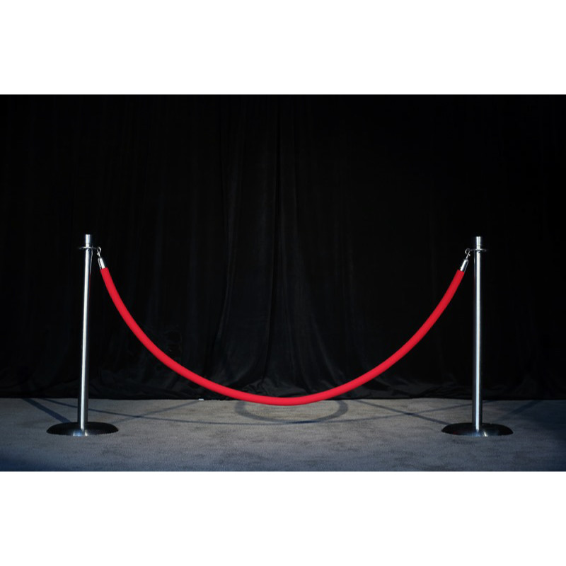 rope and stanchions