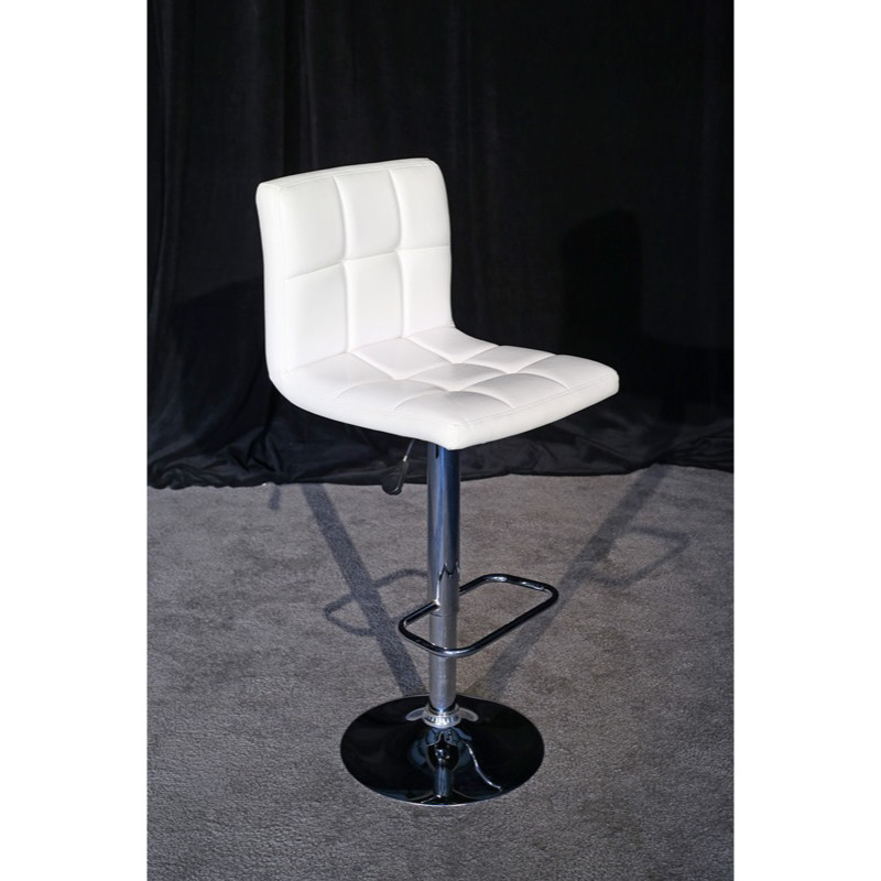 white-padded-stool